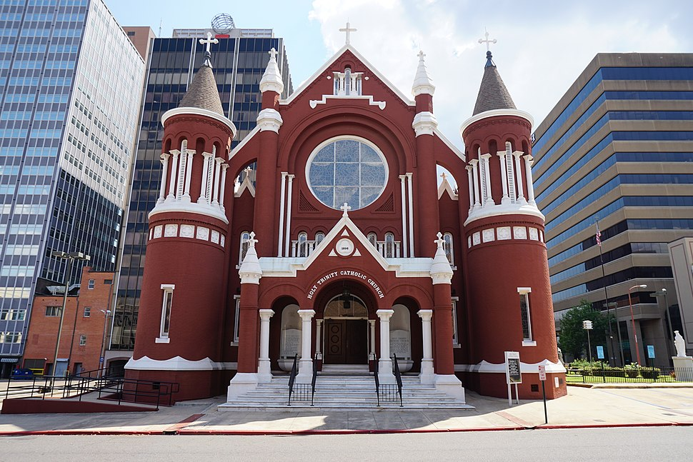 Shreveport September 2015 058 (Holy Trinity Catholic Church)