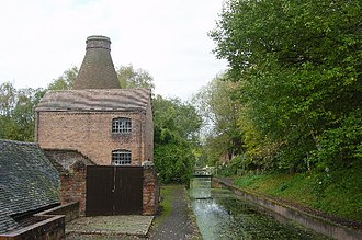 Shropshire Canal - The Shropshire Canal at Coalport