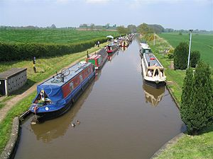 Shropshire Union Canal - The Shropshire Union Canal near Norbury Junction