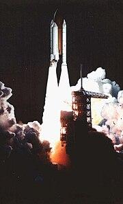 Shuttle-c launch painting