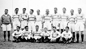 San Isidro Club - The team that won the first title for the club in 1939.