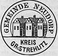 Siegel Neudorf Groß Strehlitz 1910.jpg
