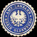 Siegelmarke Amt Lensahn - Kreis Oldenburg W0220753.jpg