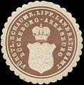 Siegelmarke Fürstl. Schaumb. Lipp. Landrathsamt Bückeburg-Arensburg W0358777.jpg