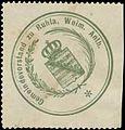 Siegelmarke Gemeindevorstandt zu Ruhla Weim. Anth. W0393325.jpg