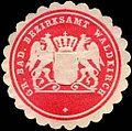 Siegelmarke Grossherzoglich Badische Bezirksamt Waldkirch W0226643.jpg