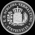 Siegelmarke Königlich Bayerische Schloss - Verwaltung - Nymphenburg W0233558.jpg