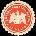 Siegelmarke Königliche Fortifikation zu Wesel W0224134.jpg