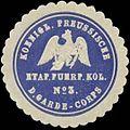 Siegelmarke K.Pr. Eatap. Fuhrpark Kolonne No. 3 des Garde-Corps W0346884.jpg