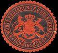 Siegelmarke K. Württ. Regierung f.d. Neckarkreis Ludwigsburg W0390500.jpg