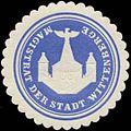 Siegelmarke Magistrat der Stadt Wittenberge W0380804.jpg