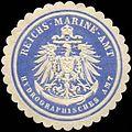 Siegelmarke Reichs-Marine-Amt Hydrographisches Amt W0285633.jpg
