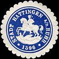 Siegelmarke Stadt Hattingen an der Ruhr W0212608.jpg