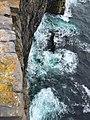 Sight down at Dún Aengus.jpg