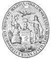 Sigilium Societatis Medicinalis et Naturæ Curiosorum in Principatu Moldaviæ, 28 ghenar 1834.png