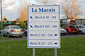 Sign at Le Marais in St Clement, Jersey.JPG
