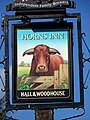 Sign for the Horns Inn, Colehill - geograph.org.uk - 760756.jpg