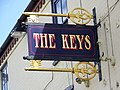 Sign for the Keys, Totton - geograph.org.uk - 862586.jpg