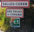 Signalisation Salles-Curan, Las Salas de Curanh.png