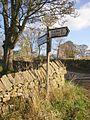 Signpost, Winterburn - geograph.org.uk - 619679.jpg