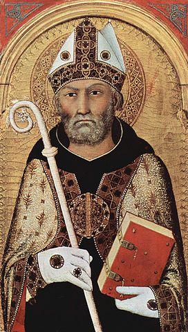 Симоне Мартини. Блаженный Августин. Около 1320г.