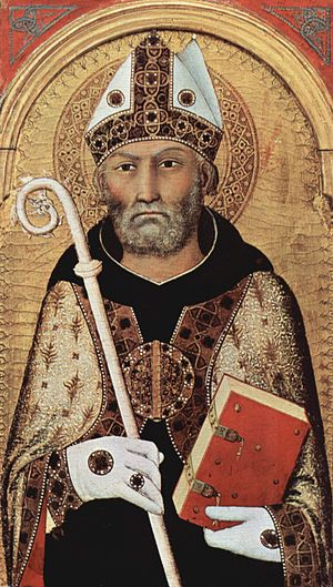Late Latin - Augustine of Hippo (354 – 430), Late Latin author