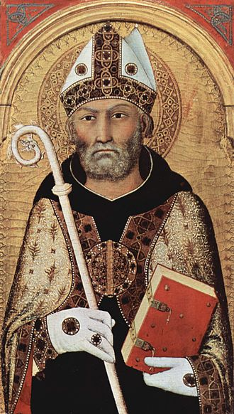 Late Latin - Augustine of Hippo (354–430), Late Latin author