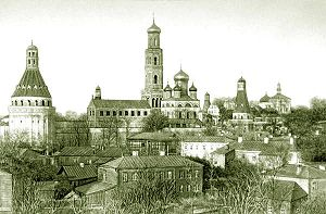 Simonov Monastery - Image: Simonov 1882