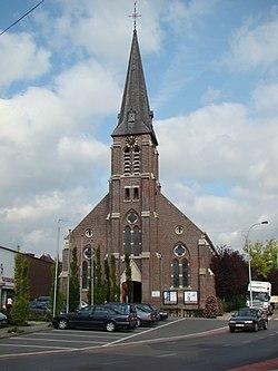 Sint-Lodewijk (Deerlijk) Onze-Lieve-Vrouw Onbevlekt Ontvangenkerk -11.JPG