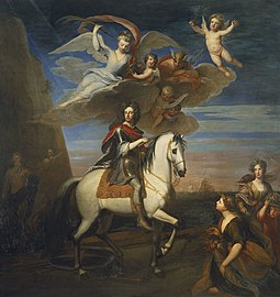 Sir Godfrey Kneller (1646-1723) - William III (1650-1702) on horseback - RCIN 403986 - Royal Collection.jpg