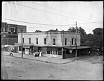 Site where the US Post Office was built in Kinston, NC. Date of this photo is not given but is likely sometime in early 1915. This structure was torn down prior to the beginning of the construction of (9617356768).jpg