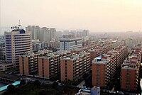 Skyline of Urban of Puning in Jan 2011.jpg