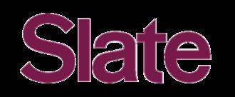 Slate (magazine) - Image: Slate logo