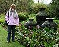 Slate urns, Threave Gardens, Castle Douglas - geograph.org.uk - 1571845.jpg