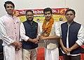 Smridh Gupta with Sachin Rana ABVP.jpg
