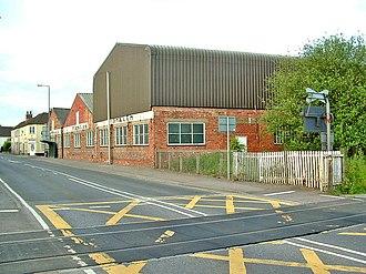 Snaith - Snaith clog factory, now a plastics factory