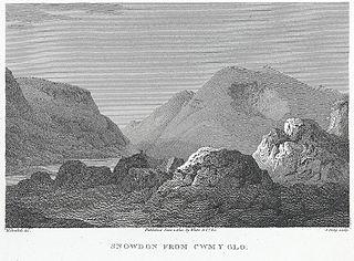 Snowdon From Cwm Y Glo