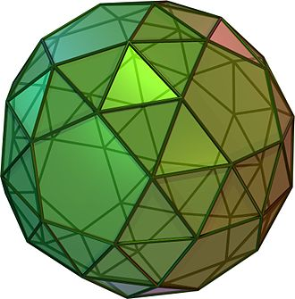 Solids with icosahedral symmetry - Snub dodecahedron (Ccw)