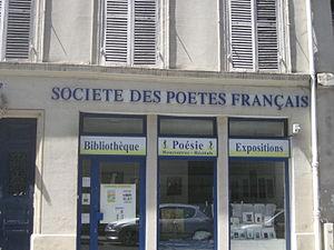 Société des poètes français - Société des poètes français,  rue Monsieur-le-Prince (Paris)