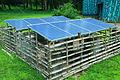 Solar Panels near the Hornbill Dormitory, Parambikulam Tiger Reserve.JPG