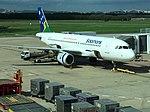 Solo mans Air A320 H4-BUS at BNE (33629329306).jpg