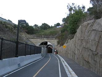 California Park, California - Southern portal of the Cal Park Hill Tunnel