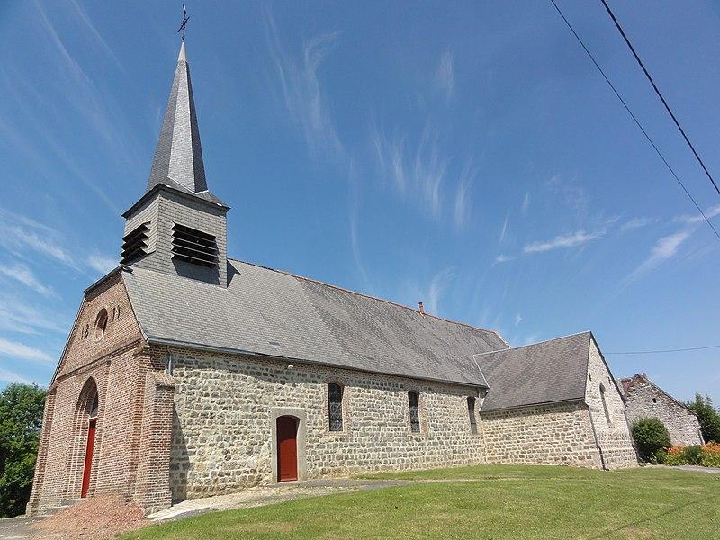 Sons-et-Ronchères (Aisne) église