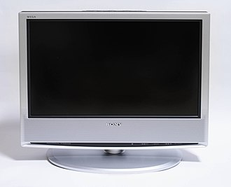 "LCD television - A 19"" Sony LCD TV"