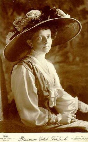 Bad Zwischenahn - Sophie Charlotte von Oldenburg in 1913