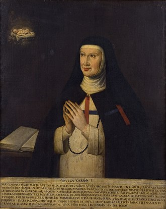 Sor Marcela de San Félix - Sor Marcela de San Félix. David Serrano. (Casa-Museo de Lope de Vega).