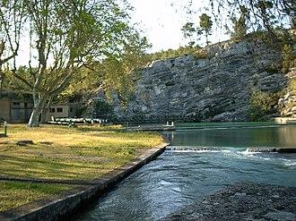 Saint-Clément-de-Rivière - Source of the Lez River