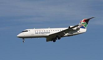South African Express - SA Express Bombardier CRJ200ER