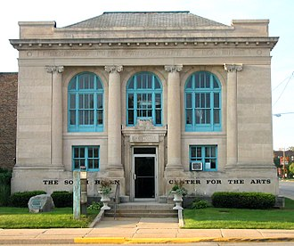 South Haven, Michigan - 1906 Carnegie Library, now housing South Haven Center for the Arts