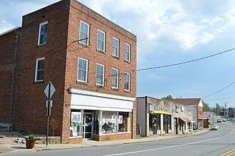 Gretna, Virginia - Main Street downtown